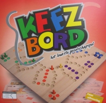 4-6 persoons keezbord vast bord [NL ONLY]